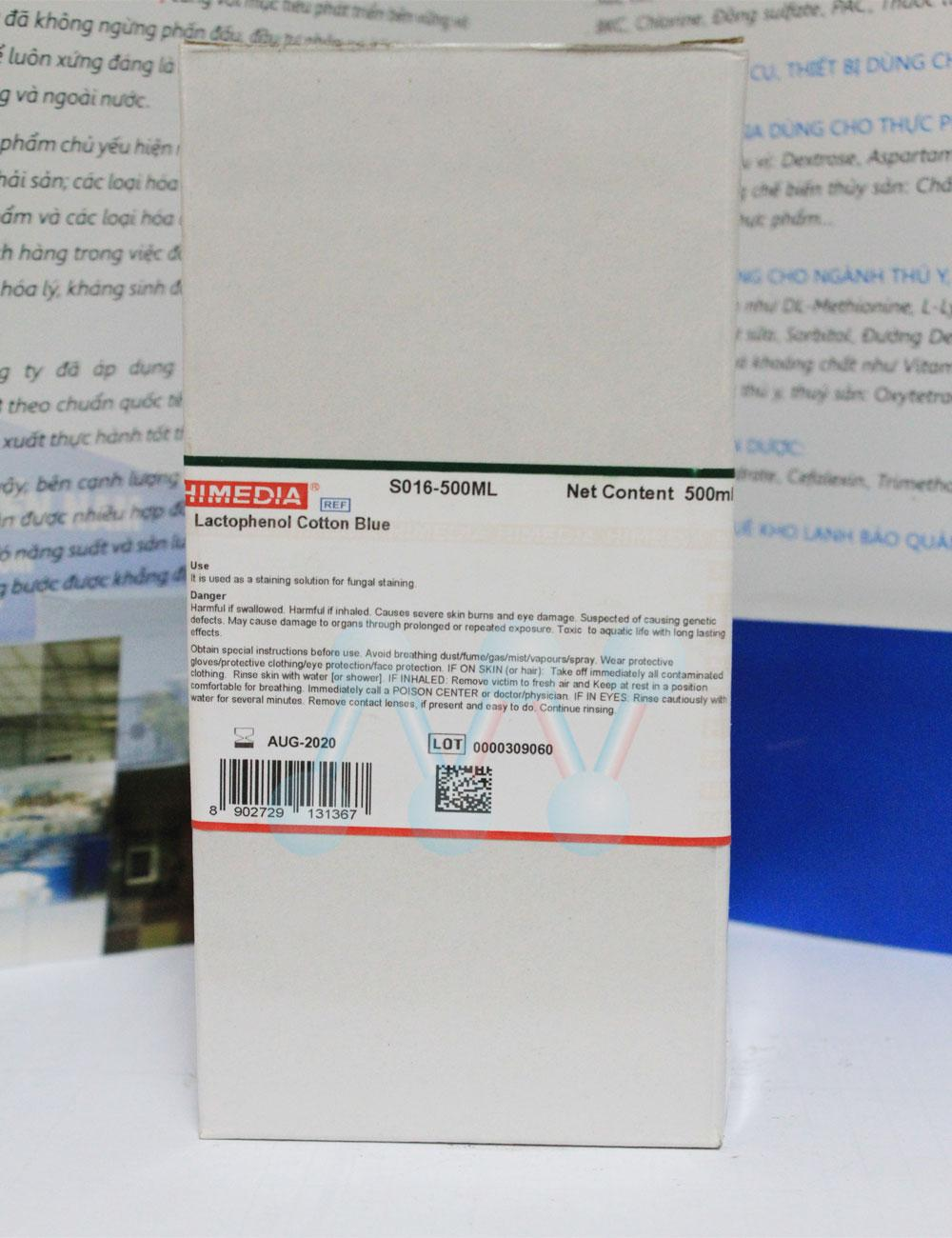 Lactophenol Cotton Blue