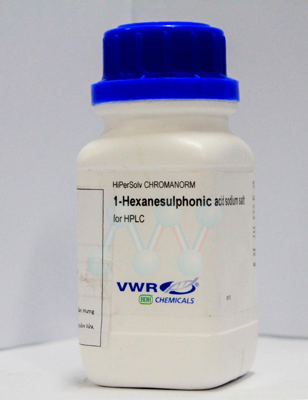 1-Hexanesulphonic acid sodium salt C6H13O3SNa