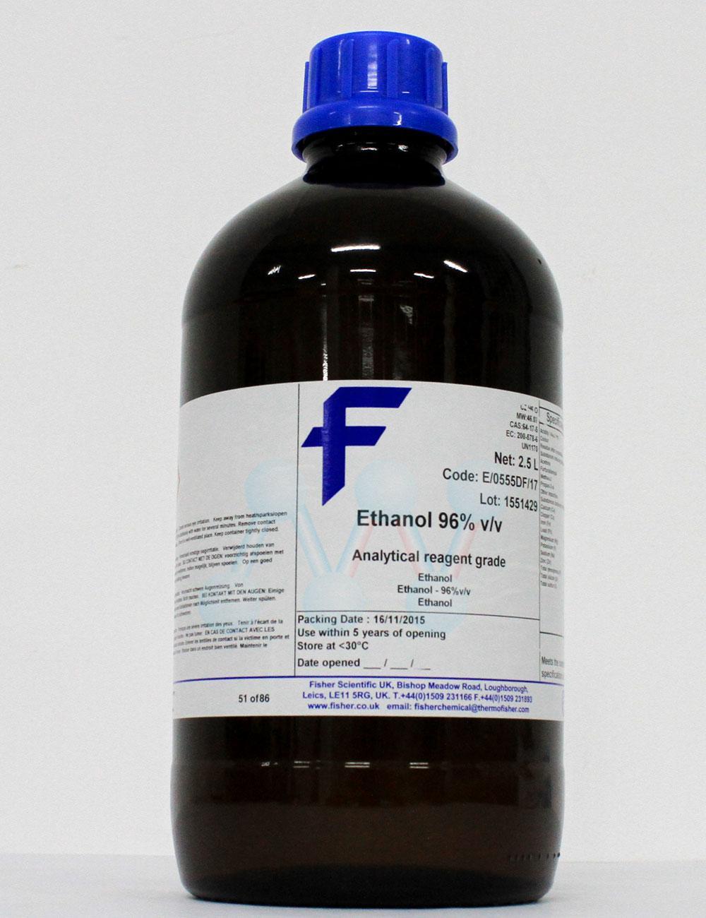 Ethanol 96% C2H5OH