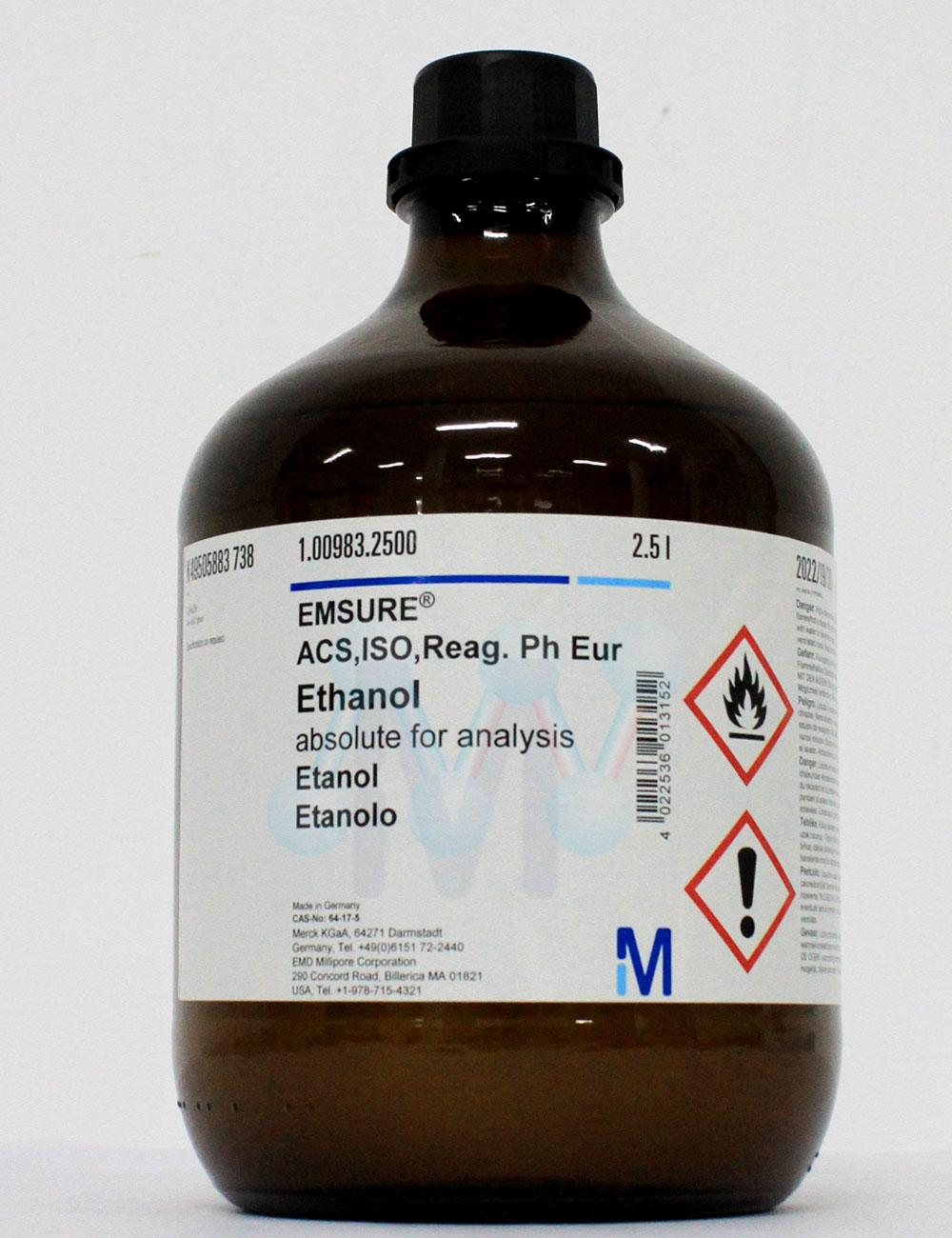 Ethanol 99,9% C2H5OH