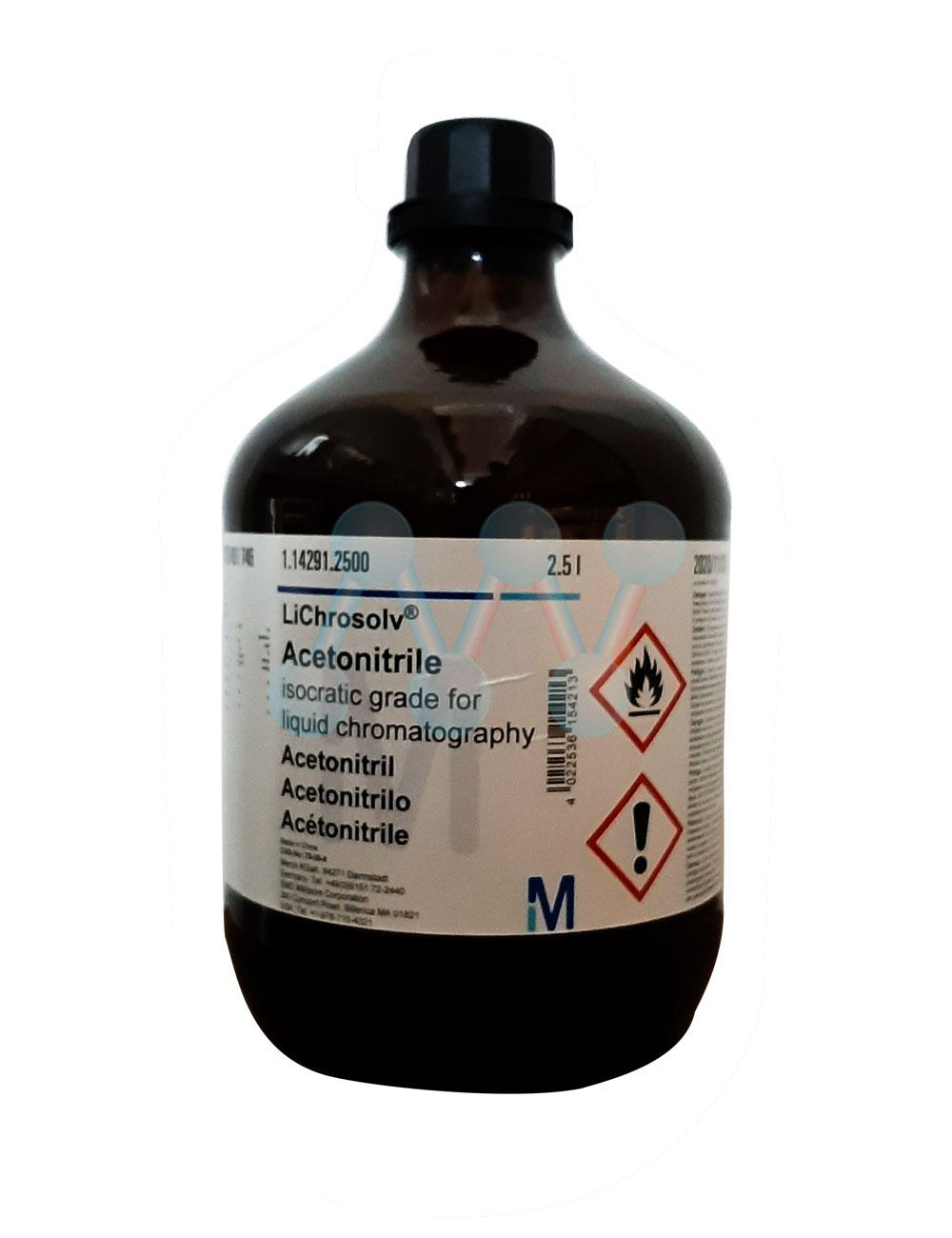 Acetonitrile isocratic CH3CN