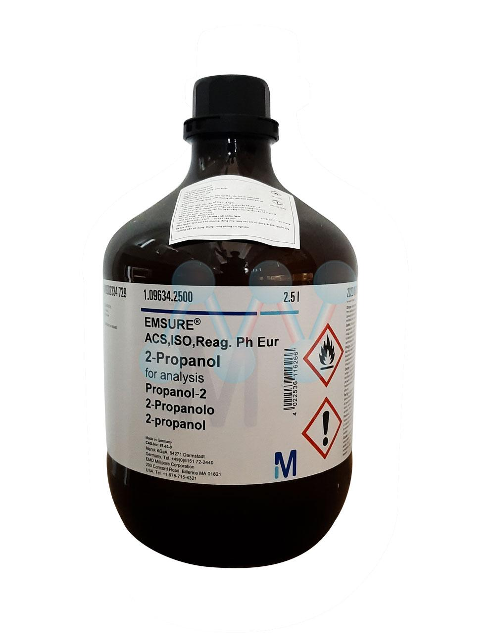 Iso Propanol (2-Propanol) (CH3)2CHOH