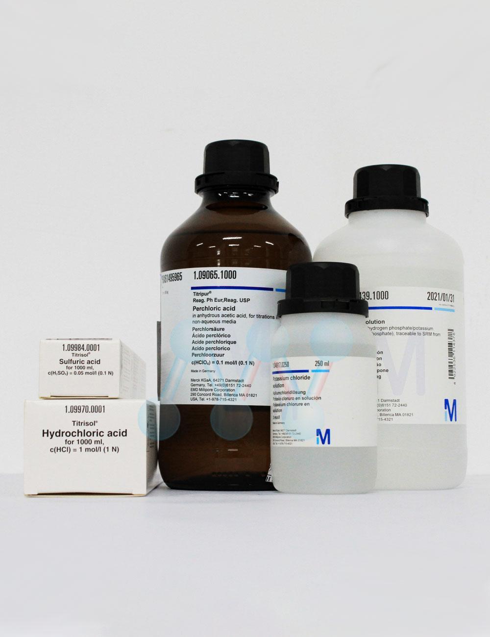Ống chuẩn Acid Chlohydric HCl 0.1N