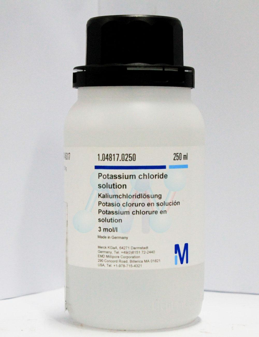 Potassium Chloride KCl 3mol/l