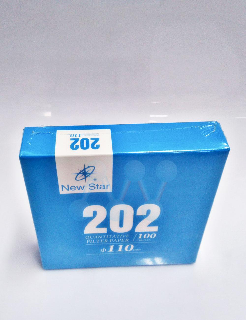 Giấy lọc định lượng No.202 F11 chảy trung (100T/hộp)  - TQ