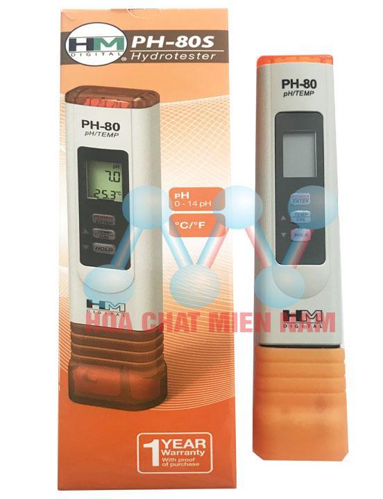 Bút đo pH và nhiệt độ nước HM Digital pH-80