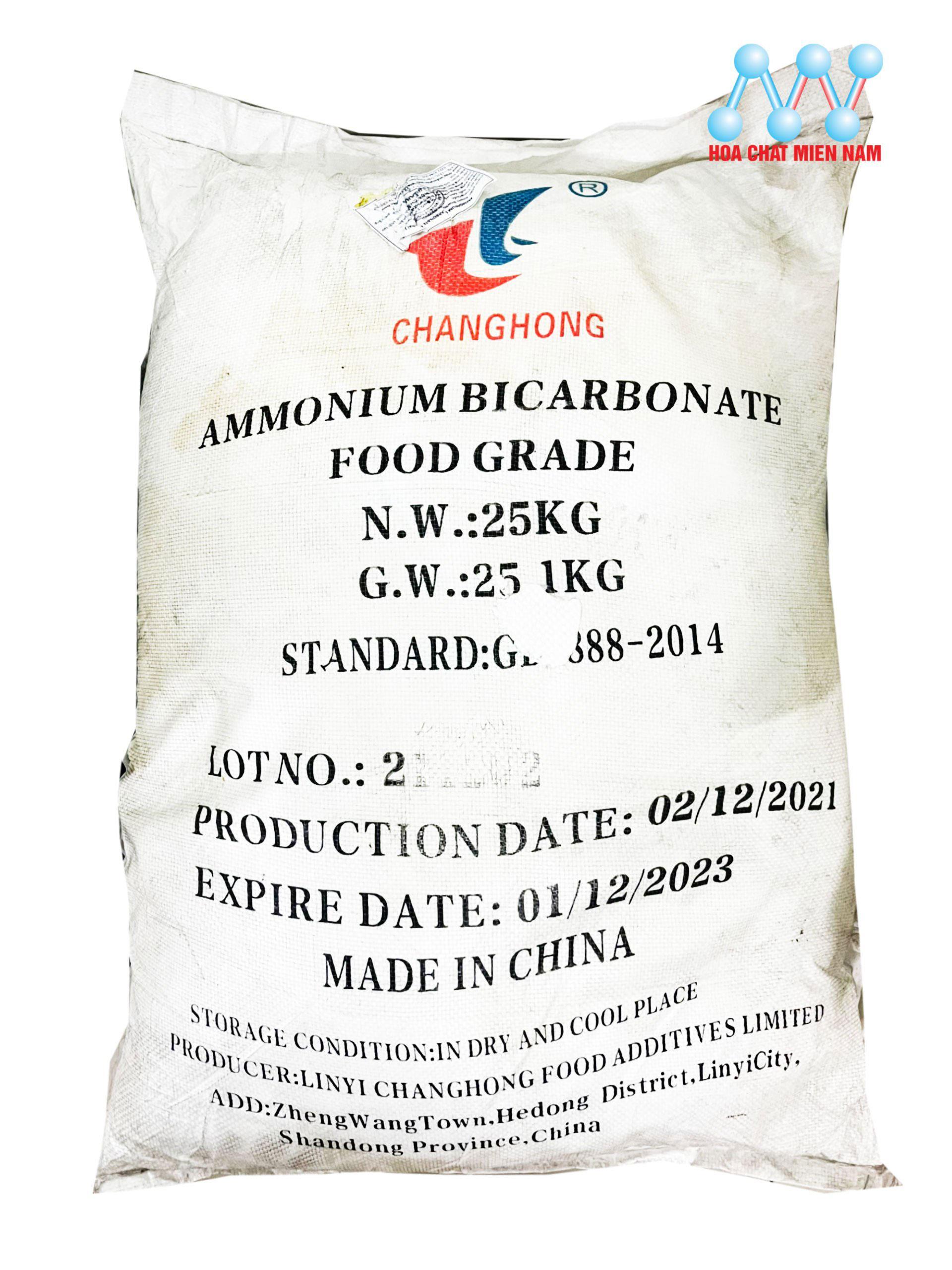 Ammonium Bicarbonate (NH4HCO3)