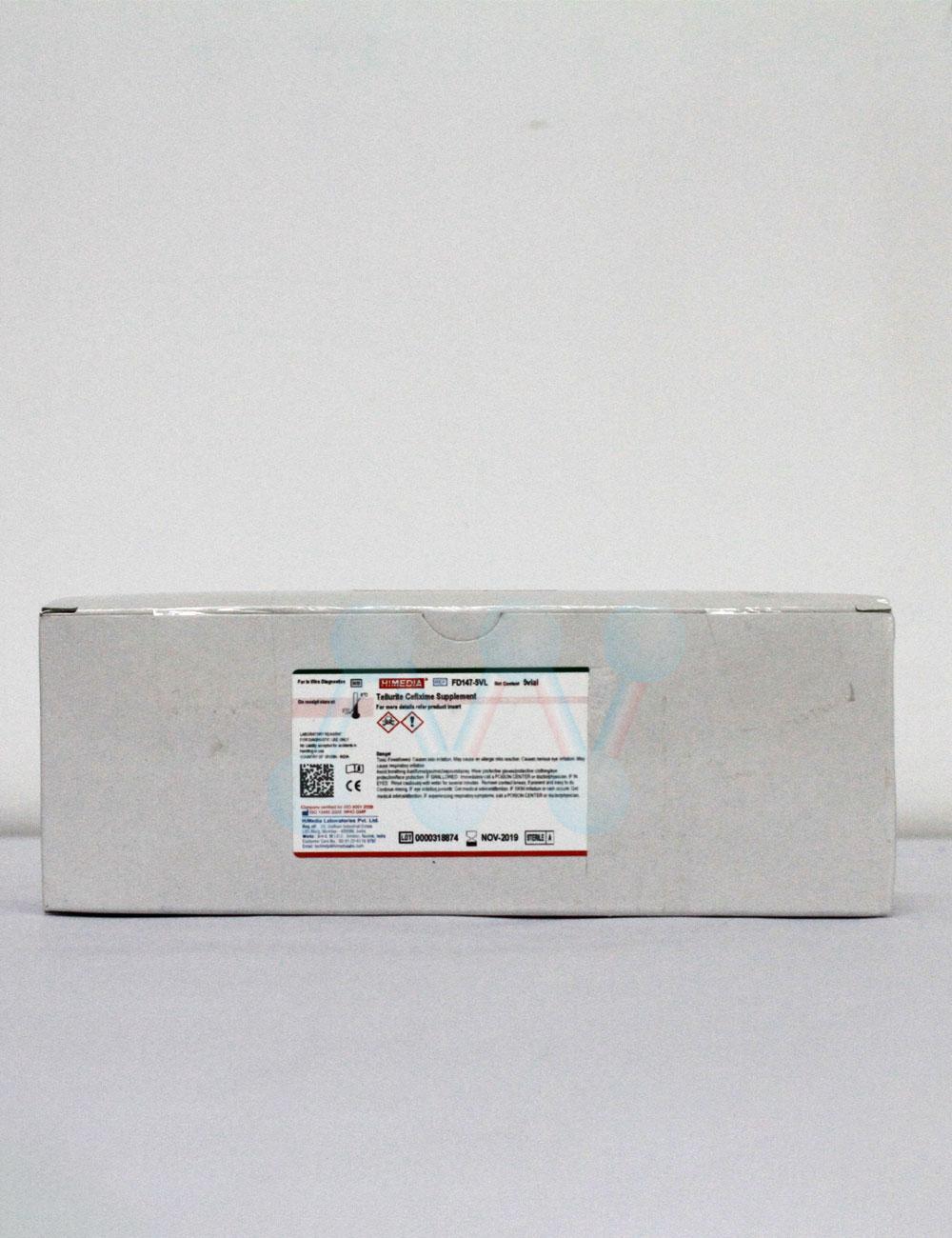 Tellurite-Cefixime Supplement