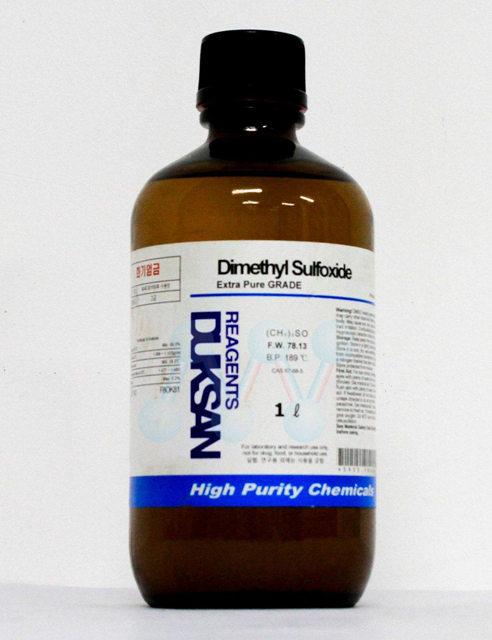 Dimethyl sulfoxide DMSO C2H6OS