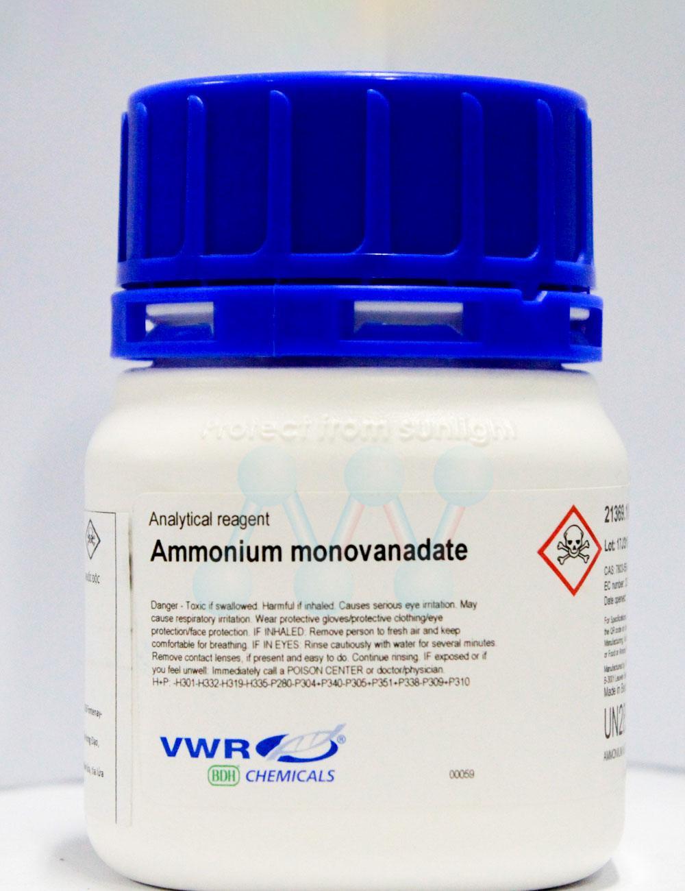 Ammonium monovanadate  NH4VO3