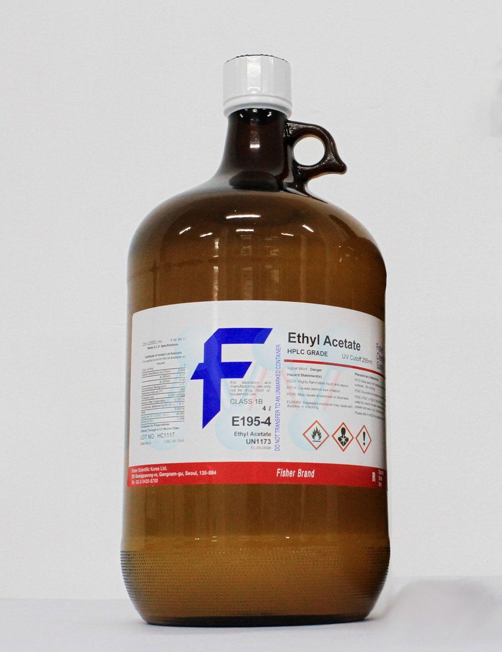 Ethyl acetate CH3COOC2H5