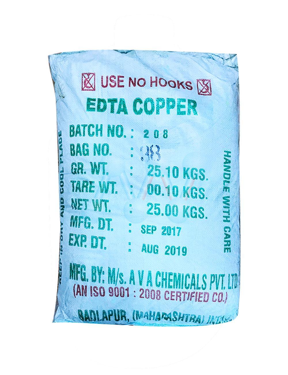Edta - Copper
