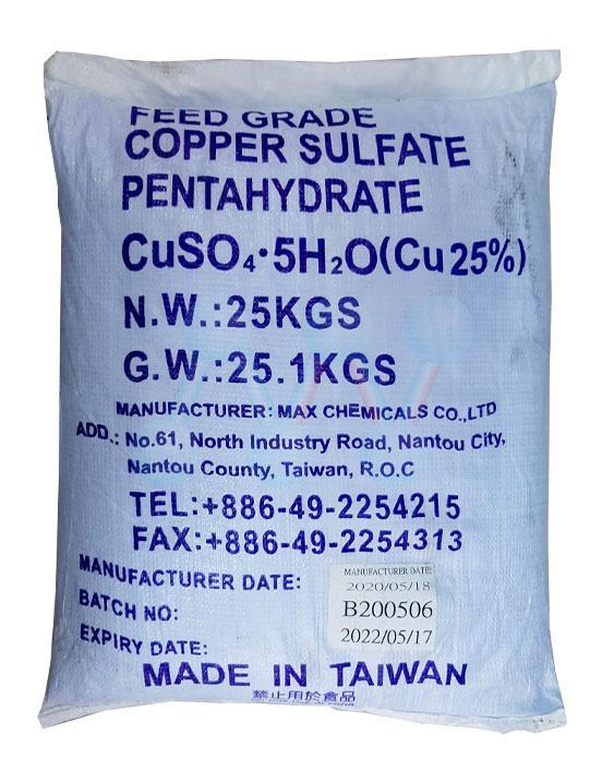 Đồng Sunfat (CuSO4.5 H2O)
